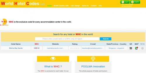 وب سایت بین المللی WHC