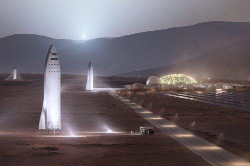 ایلان ماسک: اولین پایگاه دائمی مریخ تا سال ۲۰۲۸ ساخته میشود