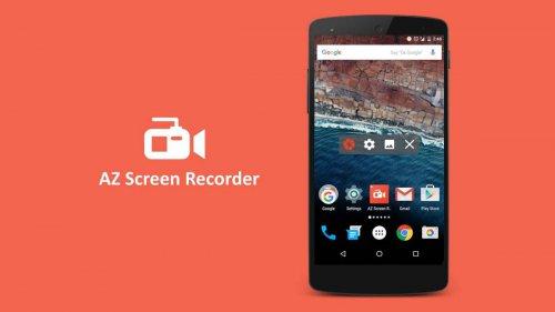 دانلود AZ Screen Recorder 5.1.1 برنامه ضبط فیلم از صفحه نمایش اندروید