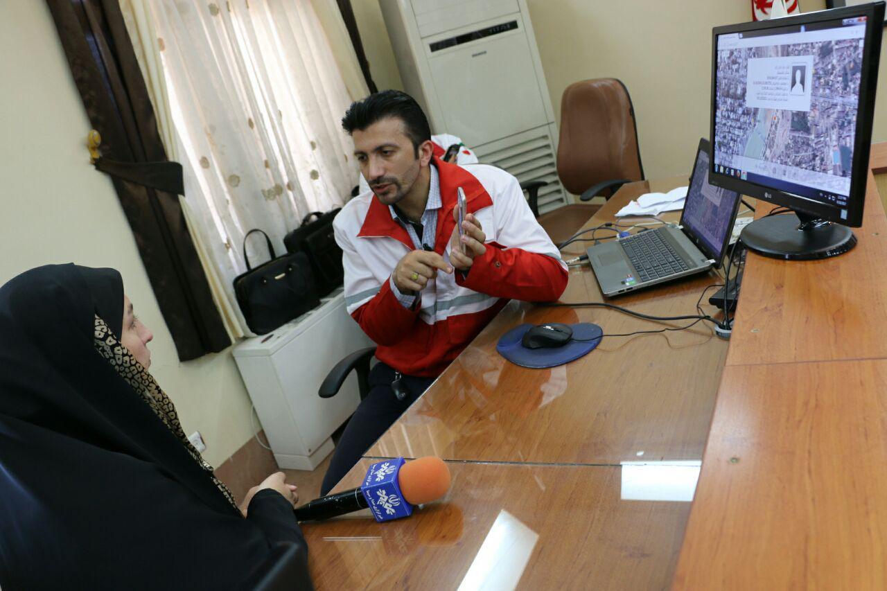 مصاحبه خبری صدا و سیما از مراسم رونمایی از اپلیکیشن نجات