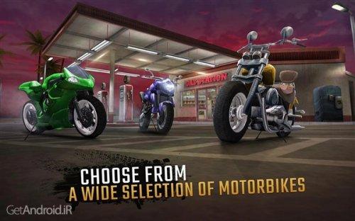 دانلود بازی  Moto Rider GO: Highway Traffic 1.21.8 برای اندروید