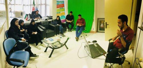 برگزاری کلاس آموزشی جهت ارتقاء همکاران