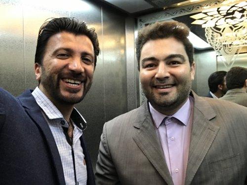 دیدار صمیمی با آقای یازرلو مجری توانمند صدا و سیما در شرکت راه آهن جمهوری اسلامی ایران