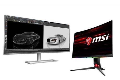 MSI مانیتورهای جدیدی از سری Optix و Prestige معرفی کرد