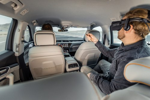 فناوری واقعیت مجازی آئودی هولوراید در CES 2019 رونمایی شد