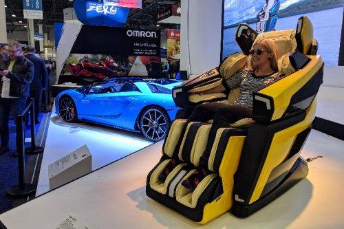صندلی ماساژور Lamborghini در CES 2019 توجهات را بهخود جلب کرد