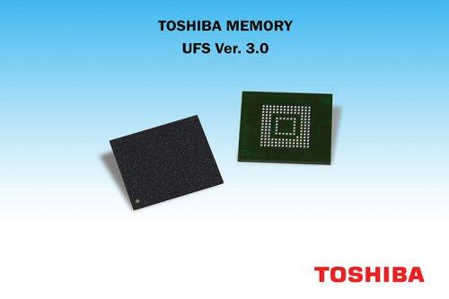 توشیبا اولین تراشه حافظه UFS ورژن 3 را ارائه میکند