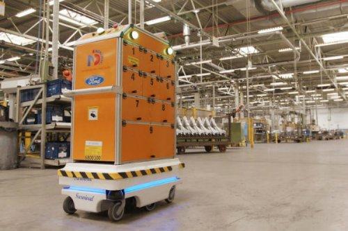 آشنایی با ربات جالب فورد که طرحی نزدیک به WALL E دارد