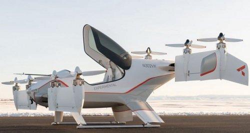 تصاویر جدیدی از تاکسی پرنده ایرباس به نام آلفا دو منتشر شد
