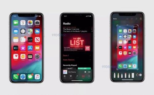 اسکرین شات های فاش شده از iOS 13 حالت تاریک را به نمایش می گذارند