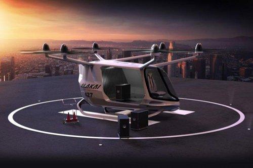 اولین خودروی پرنده هیدروژنی با طراحی بی ام و معرفی شد