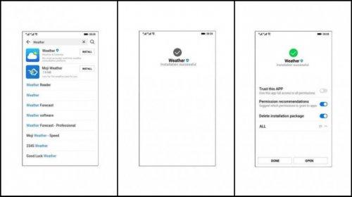 اسکرین شات های جدید از سیستم عامل موبایل هواوی به نام «آرک»