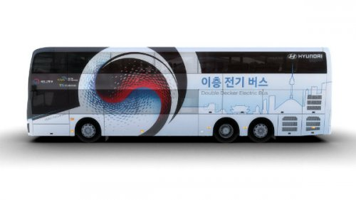 اتوبوس برقی دو طبقه؛ محصول جدید هیوندای برای حمل و نقل سبز درون شهری
