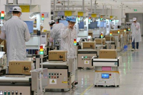 تولید بعضی از گوشی های هواوی در فاکسکان متوقف شد