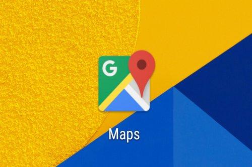 گوگل مپ ازاینپس سرعت حرکت کاربر را درلحظه نشان میدهد