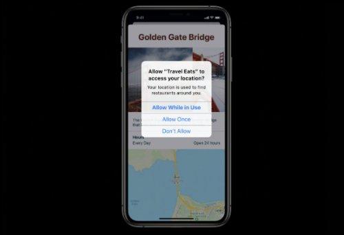 iOS 13 شما را از رهگیری پسزمینه اپها مطلع میکند