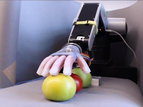 ربات جدیدی که با لمس یا دیدن اشیا ماهیت آنها را تشخیص میدهد