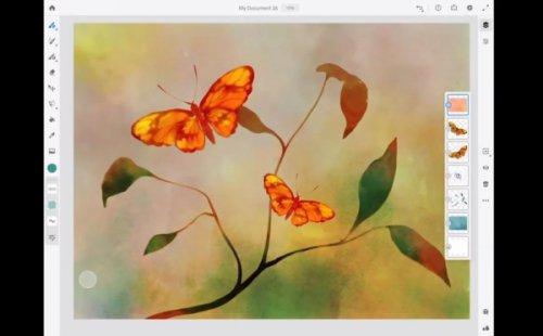 اپلیکیشن طراحی جدید ادوبی برای آیپد با نام Fresco منتشر میشود