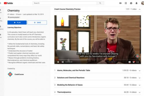 رونمایی یوتیوب از لیست پخش یادگیری؛ محتوای آموزشی بدون پیشنهادهای مزاحم