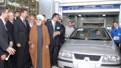 فعالیت مجدد خط تولید سمند در سوریه؛ بازگشت شام ایران خودرو به سرزمین جنگ زده