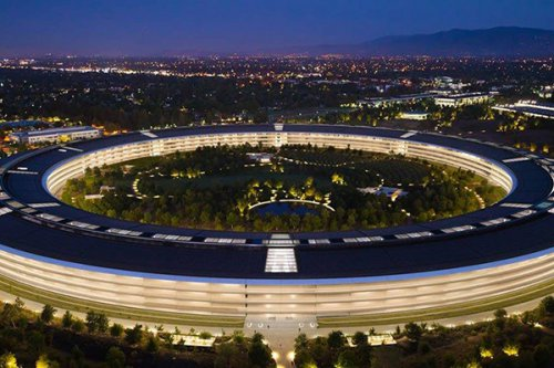 اپل پارک با ارزش 4 میلیارد دلار یکی از گرانترین مراکز دنیاست