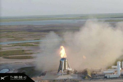 لغو پرتاب راکت استارهاپر اسپیس ایکس ثانیههایی قبل از پرتاب