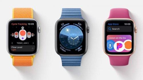 اپل واچ سری ۵ با نمایشگر همیشه روشن معرفی شد