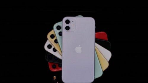 آیفون ۱۱ با دوربین دوگانه معرفی شد