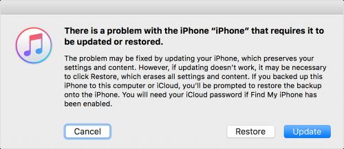 در صورت فراموشی رمز عبور آیفون و آیپد باید چه کرد؟