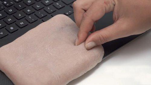 پوست مصنوعی هوشمند برای برقراری ارتباط با گوشیهای هوشمند و لپتاپها