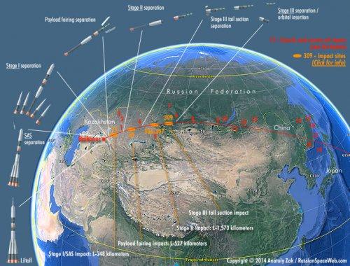 ماهواره ظفر چگونه و کجا سقوط کرد؟