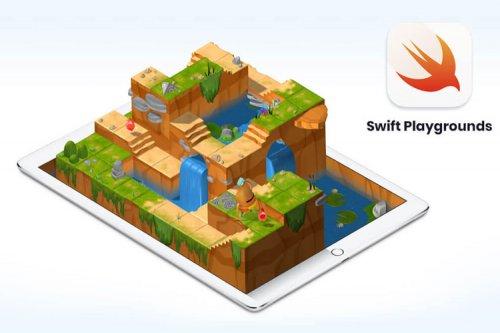 Swift Playgrounds، اپلیکیشن رایگان آموزش برنامه نویسی اپل، برای مک منتشر شد